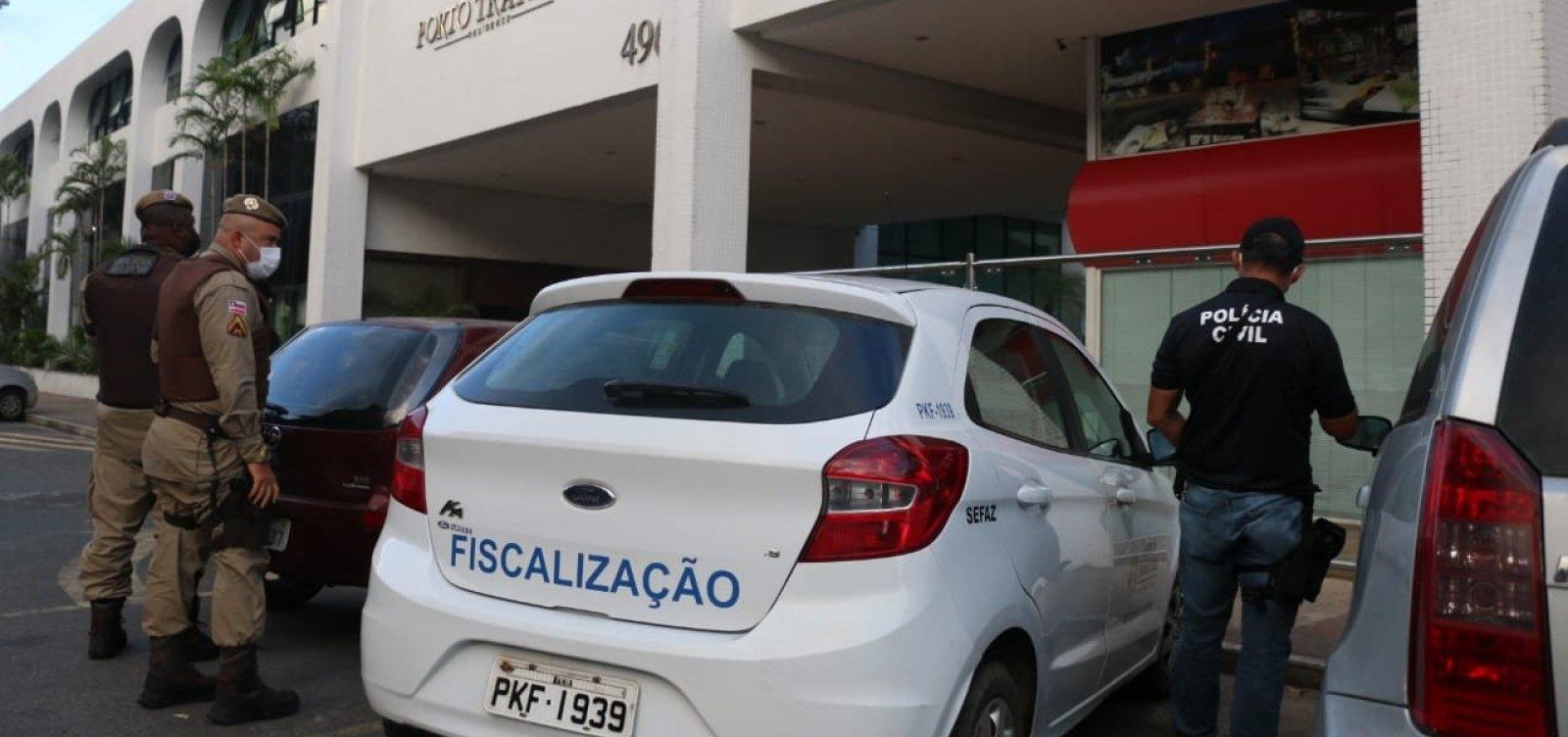 Polícia Civil da Bahia cumpre 8 mandados de prisão contra organização criminosa que movimentou R$ 75 milhões