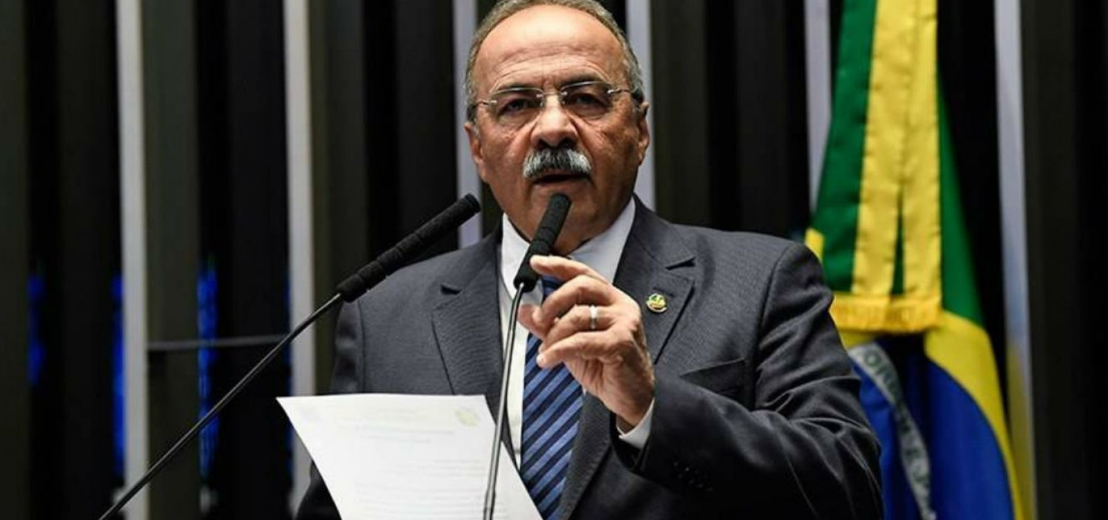 Presidente do Conselho de Ética diz que Chico Rodrigues deveria se licenciar por 120 dias