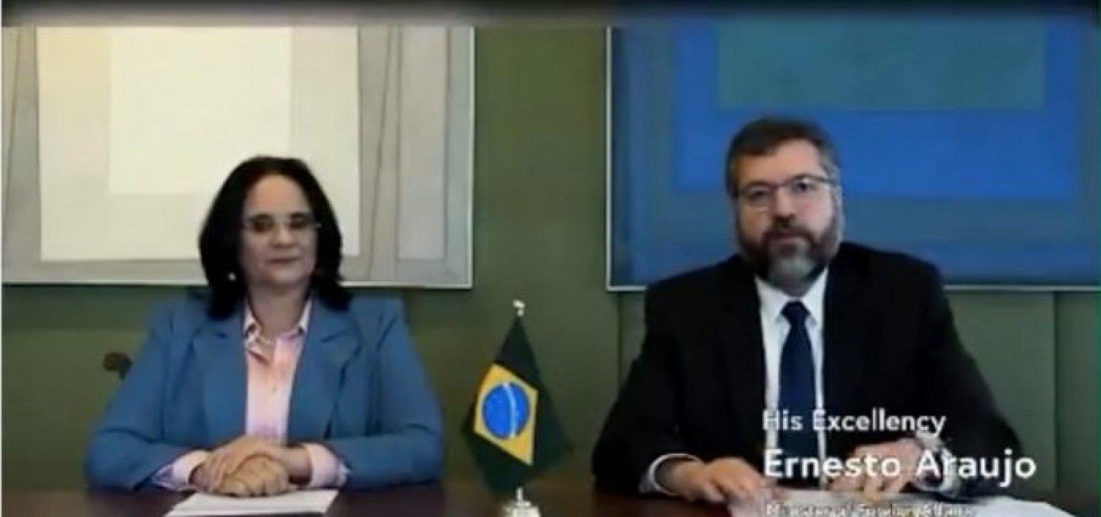 Brasil se une a países conservadores e assina declaração internacional contra o aborto