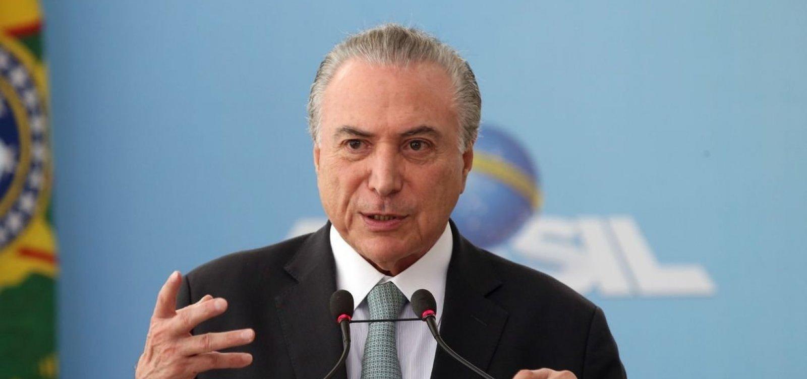 Em livro, Temer revela bastidores do impeachment de Dilma