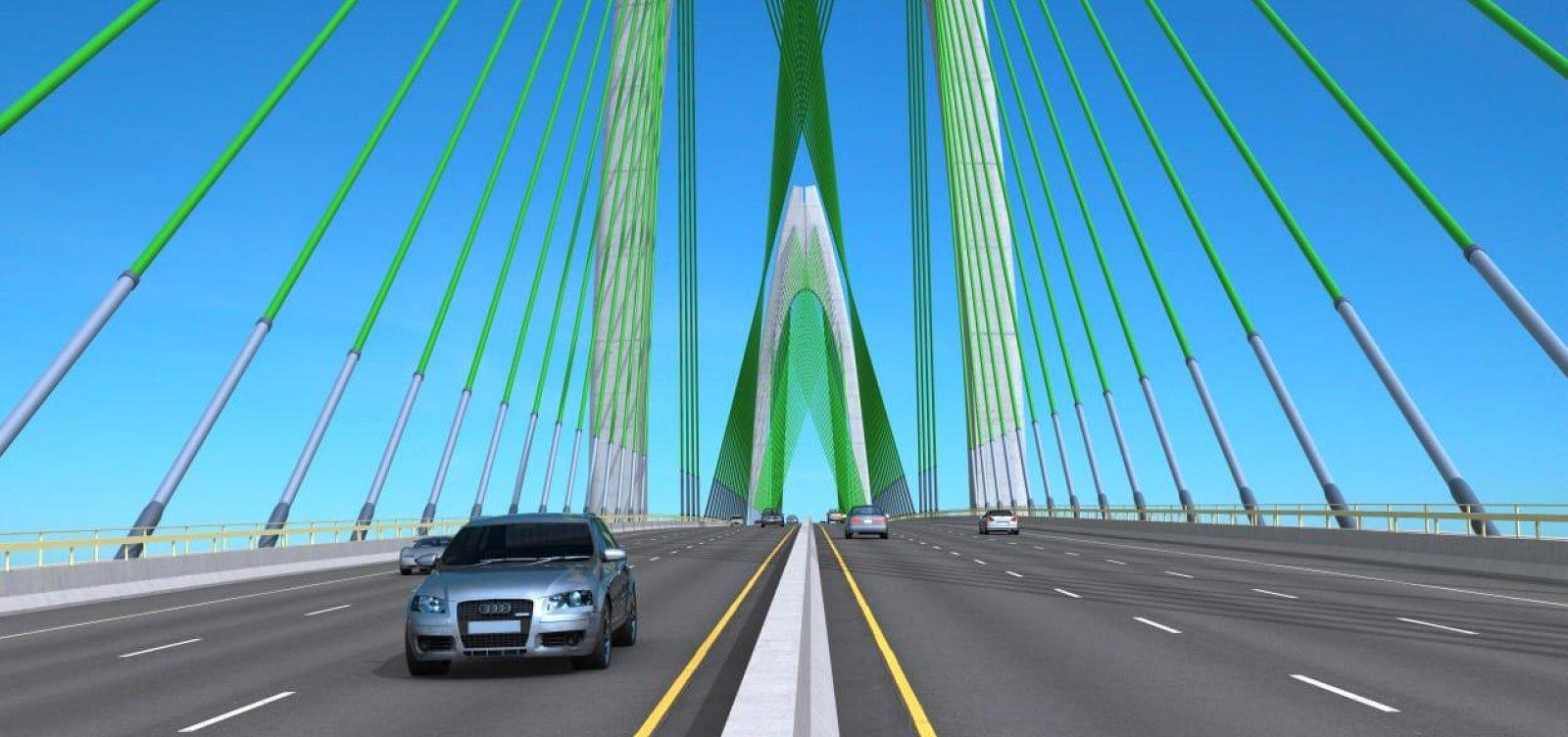 Ponte Salvador-Itaparica: contrato das obras será assinado nesta quinta-feira
