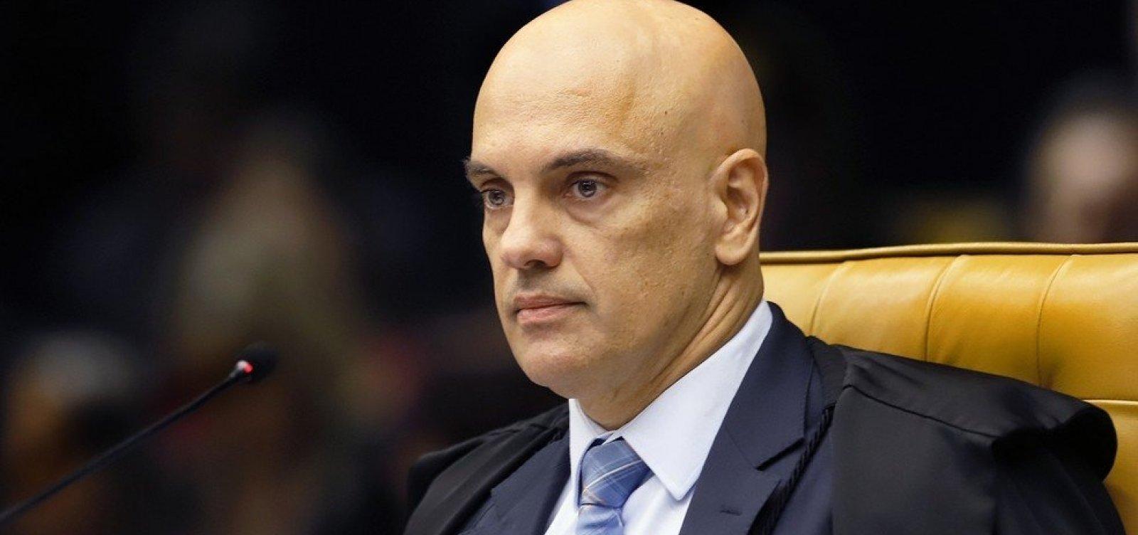 Ministro Alexandre de Moraes é diagnosticado com Covid-19