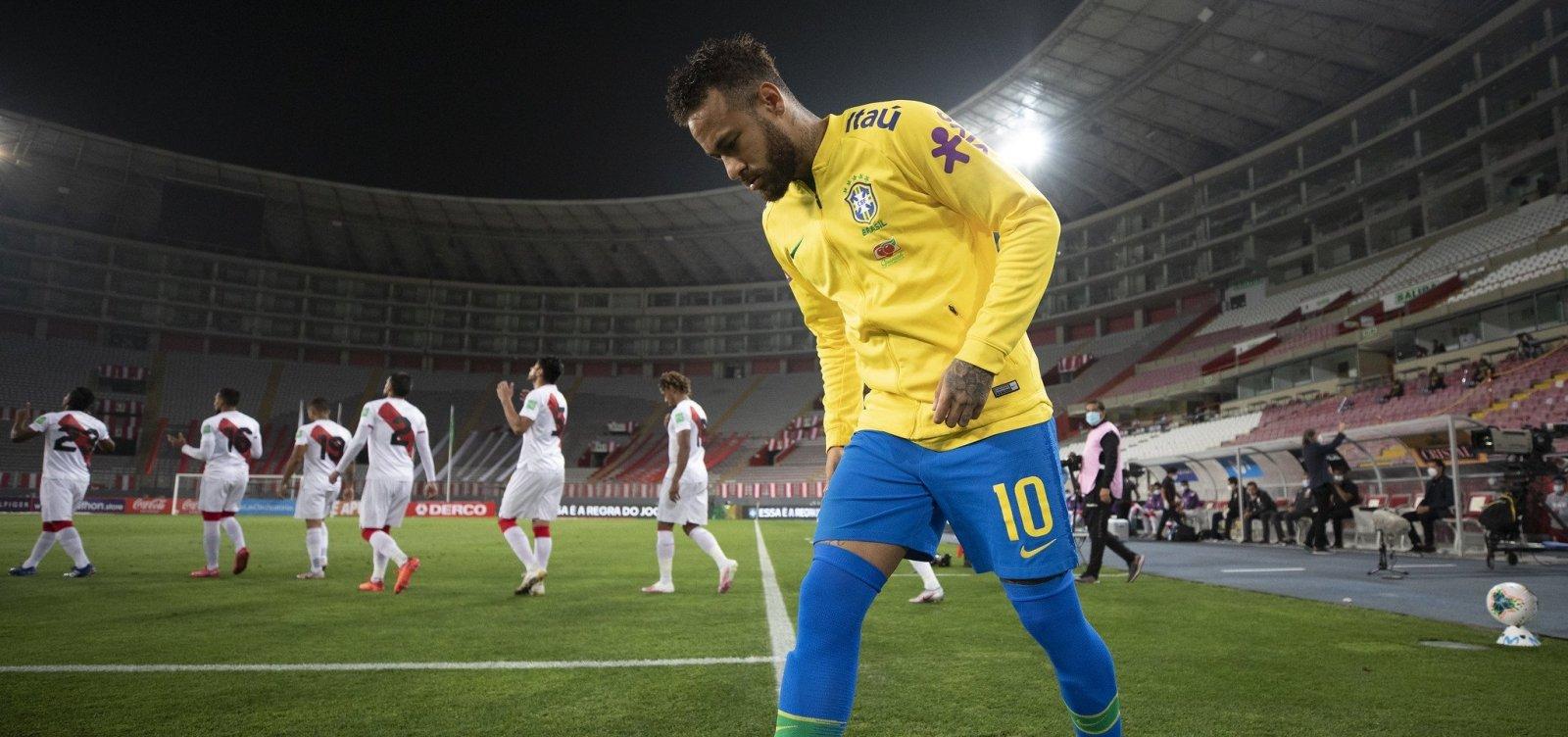 CBF desconvoca Neymar após exame sobre lesão muscular